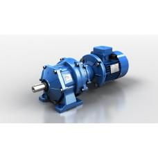 Цилиндрический мотор-редуктор Motovario серии CHA 43-240,55 (TS63A4 0,12-1500 230/400)B3 +output shaft 28mm