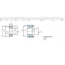 Шарикоподшипники радиальные 6309-2RS/C3 SKF